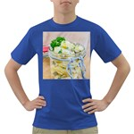Potato salad in a jar on wooden Dark T-Shirt Front
