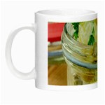 Potato salad in a jar on wooden Night Luminous Mugs Left