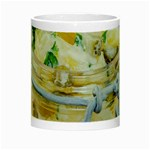 Potato salad in a jar on wooden Night Luminous Mugs Center