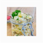Potato salad in a jar on wooden Collage Prints 18 x12 Print - 2