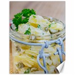 Potato salad in a jar on wooden Canvas 12  x 16   16 x12 Canvas - 1