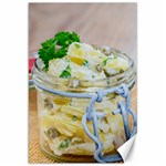 Potato salad in a jar on wooden Canvas 20  x 30   30 x20 Canvas - 1