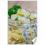 Potato salad in a jar on wooden Canvas 24  x 36  36 x24 Canvas - 1