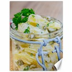 Potato salad in a jar on wooden Canvas 36  x 48   48 x36 Canvas - 1