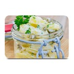 Potato salad in a jar on wooden Plate Mats 18 x12 Plate Mat - 1