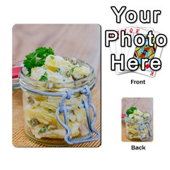 Potato Salad In A Jar On Wooden Multi Purpose Cards (rectangle)