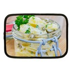 Potato salad in a jar on wooden Netbook Case (Medium)  Front