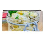 Potato salad in a jar on wooden Pencil Cases Back