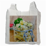 Potato salad in a jar on wooden Recycle Bag (Two Side)  Back