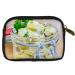 Potato salad in a jar on wooden Digital Camera Cases Back