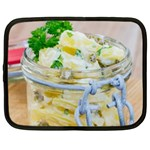 Potato salad in a jar on wooden Netbook Case (XXL)  Front