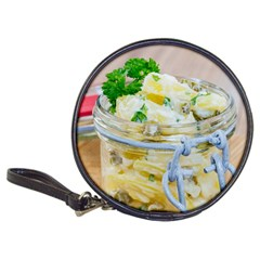 Potato Salad In A Jar On Wooden Classic 20 Cd Wallets