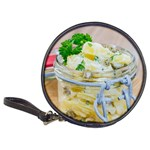 Potato salad in a jar on wooden Classic 20-CD Wallets Front