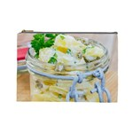 Potato salad in a jar on wooden Cosmetic Bag (Large)  Front