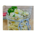 Potato salad in a jar on wooden Cosmetic Bag (XL) Front