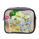 Potato salad in a jar on wooden Mini Toiletries Bag 2-Side Front