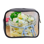 Potato salad in a jar on wooden Mini Toiletries Bag 2-Side Back
