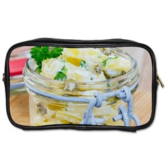 Potato Salad In A Jar On Wooden Toiletries Bags 2 Side