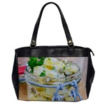 Potato salad in a jar on wooden Office Handbags Front
