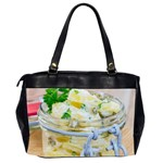 Potato salad in a jar on wooden Office Handbags (2 Sides)  Back