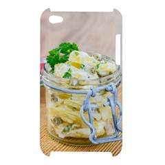 Potato salad in a jar on wooden Apple iPod Touch 4