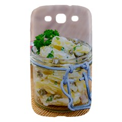 Potato salad in a jar on wooden Samsung Galaxy S III Hardshell Case