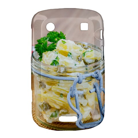 Potato salad in a jar on wooden Bold Touch 9900 9930