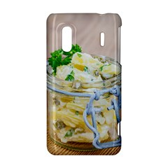 Potato salad in a jar on wooden HTC Evo Design 4G/ Hero S Hardshell Case
