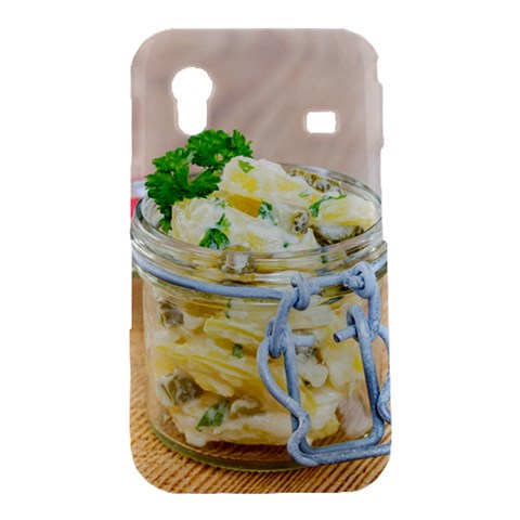 Potato salad in a jar on wooden Samsung Galaxy Ace S5830 Hardshell Case