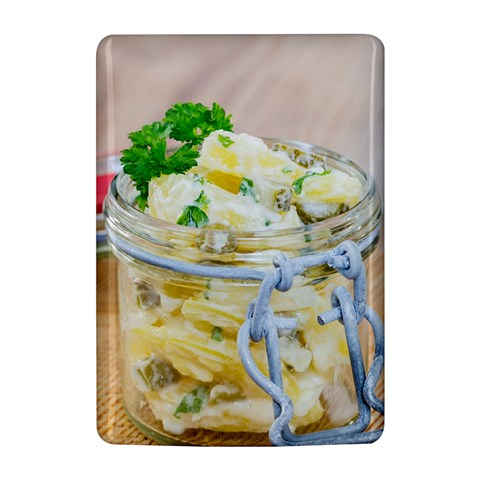 Potato salad in a jar on wooden Kindle 4