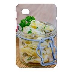 Potato salad in a jar on wooden Samsung Galaxy Tab 7  P1000 Hardshell Case