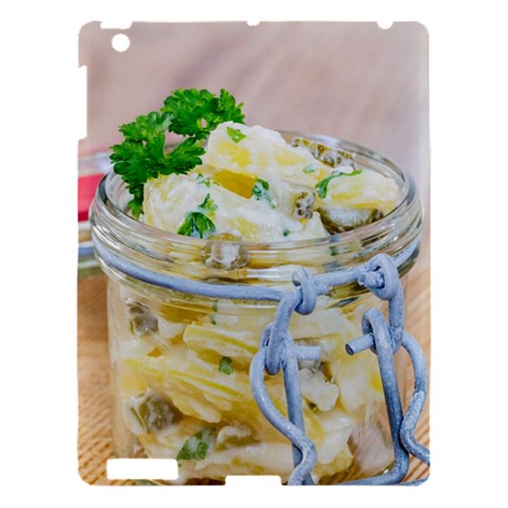 Potato salad in a jar on wooden Apple iPad 3/4 Hardshell Case