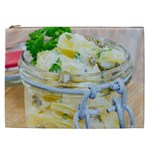 Potato salad in a jar on wooden Cosmetic Bag (XXL)  Front