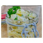 Potato salad in a jar on wooden Cosmetic Bag (XXXL)  Front