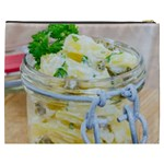 Potato salad in a jar on wooden Cosmetic Bag (XXXL)  Back