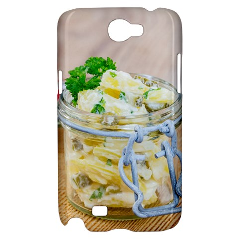 Potato salad in a jar on wooden Samsung Galaxy Note 2 Hardshell Case