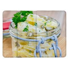 Potato salad in a jar on wooden Kindle Fire (1st Gen) Flip Case