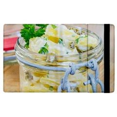 Potato Salad In A Jar On Wooden Apple Ipad 2 Flip Case