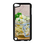 Potato salad in a jar on wooden Apple iPod Touch 5 Case (Black) Front
