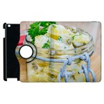 Potato salad in a jar on wooden Apple iPad 3/4 Flip 360 Case Front