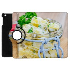 Potato Salad In A Jar On Wooden Apple Ipad Mini Flip 360 Case