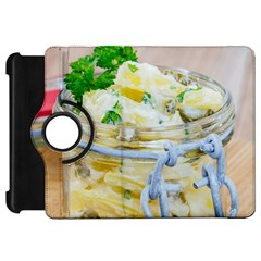 Potato Salad In A Jar On Wooden Kindle Fire Hd Flip 360 Case