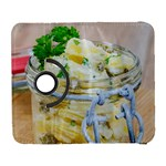 Potato salad in a jar on wooden Samsung Galaxy S  III Flip 360 Case Front