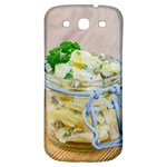 Potato salad in a jar on wooden Samsung Galaxy S3 S III Classic Hardshell Back Case Front