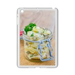 Potato salad in a jar on wooden iPad Mini 2 Enamel Coated Cases Front