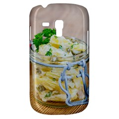 Potato salad in a jar on wooden Samsung Galaxy S3 MINI I8190 Hardshell Case
