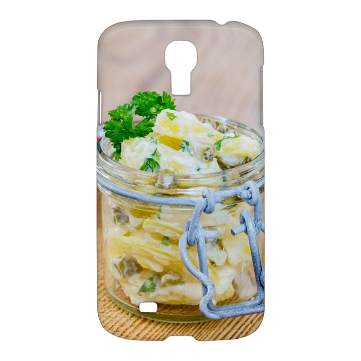 Potato salad in a jar on wooden Samsung Galaxy S4 I9500/I9505 Hardshell Case