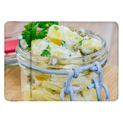 Potato Salad In A Jar On Wooden Samsung Galaxy Tab 8 9  P7300 Flip Case