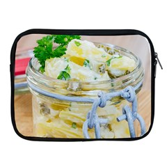 Potato salad in a jar on wooden Apple iPad 2/3/4 Zipper Cases