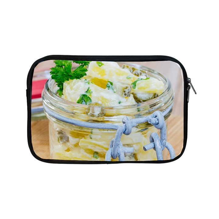 Potato salad in a jar on wooden Apple iPad Mini Zipper Cases